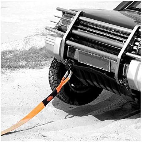 Schwere Abschleppgurt Gr/ö/ße: 5m // 5t for Autos//SUV//Agrarfahrzeuge//Schiff//Yacht mit 2 Safty Haken Aufbewahrungstasche Polyester-Schleppgurte 4-mal; 4 Dirgee 5 Meter Abschleppseil