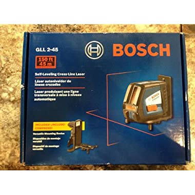 Bosch GLL 2-45 Self-leveling Long-range Cross-line Laser