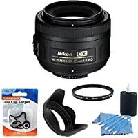 Nikon Auto Focus-S DX 35mm F/1.8G Lens Exclusive Accessory Bundle - Fixed Explained Review Image