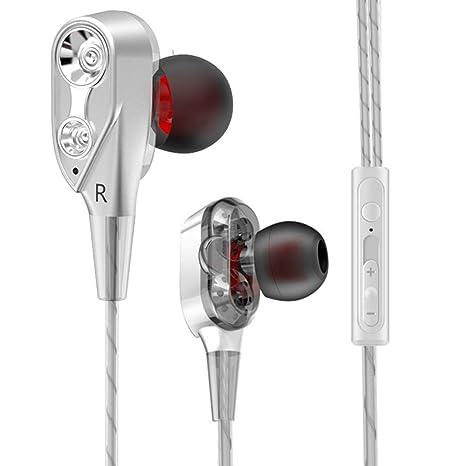 aaerp Audífonos HiFi Auriculares Inalámbricos Inalámbricos de Doble Acción de Doble Acción para Correr