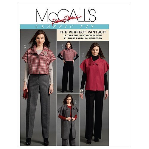 McCall's Patterns M5941 Misses' Unlined Jacket In 3 Lengths And Pants, Size FF (16-18-20-22) by McCall's Patterns