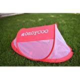 Amazon Price History for:Baby tent, Pop-Up beach tent, Instant travel tent for baby, Protect from sun & bugs (Red)
