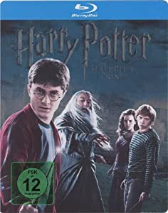 Harry Potter Half Blood Prince Blu-ray SteelBook[German Import, Region Free]