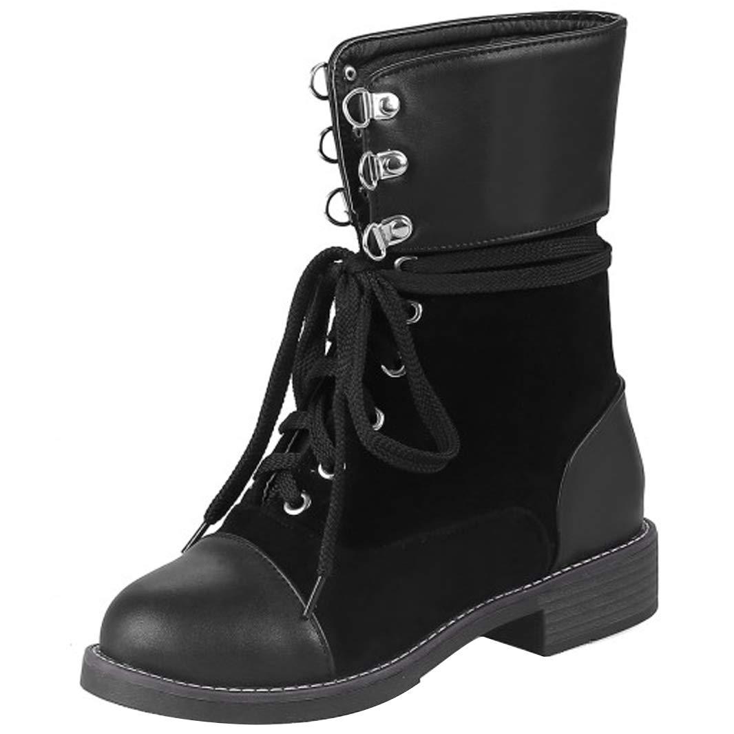 Mavirs Womens Mastay Ankle-high Block Heel Ankle-high Mastay 2.5 cm Boots B07GJL3PCJ Boots 069928