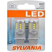 SYLVANIA 4057 White LED Bulb, (Contains 2 Bulbs)