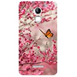 Clapcart Butterfly Design Printed Mobile Back Cover Case For Coolpad Note 3 / Coolpad Note 3 Plus - Multicolor