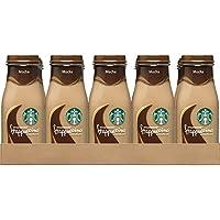 Starbucks Frappuccino Drinks, Mocha Flavor, 9.5 Ounce Glass Bottles (15 Bottles)