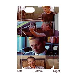 Furious 7 FG0023093 3D Art Print Design Phone Back Case Customized Hard Shell Protection For Apple Iphone 5/5S Case Cover