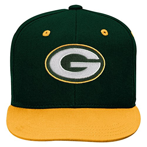 NFL by Outerstuff NFL Green Bay Packers Kids 2-Tone Flat Vis