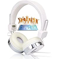 JNTworld Dj Over the Collapsible Head Earphone Headphones for Apple Ipod, Ipad, Nano, Sony Mp4, Samsung I9500 S4