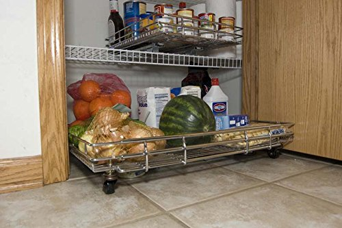 Shelf Wheels Expandable Kitchen Pantry product image