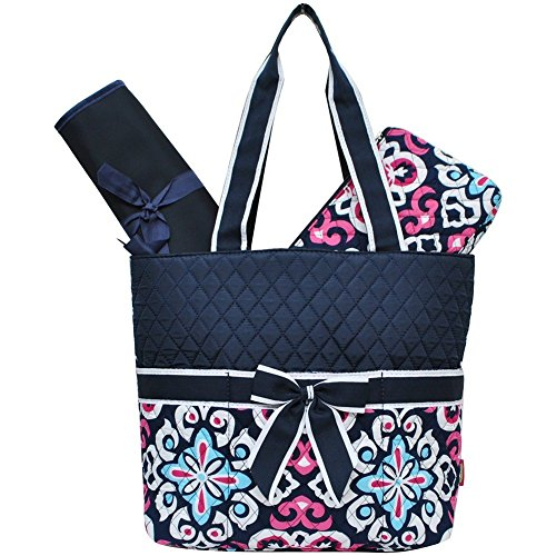 quilted diaper bags - 9