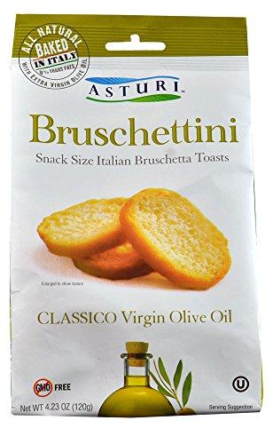 Asturi Bruschettini Classico Virgin Olive Oil -- 4.23 oz - Pack of 2