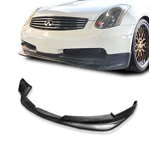 PULips(IFG35203GTFAD) GT Spec Style Front Bumper Lip For Infiniti G35 Coupe 2003-2007