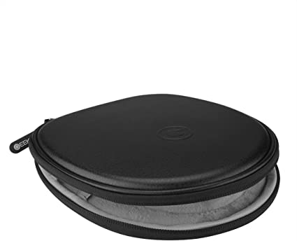 Replacement Zipper Carrying Case Round /& Hard Box Portable Bag Compatible Bose Quietcontrol 30 QC30 in-Ear Wireless Headphones Black