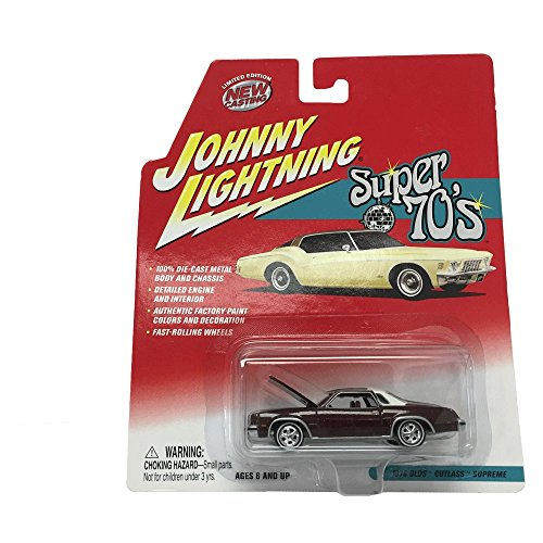 Johnny Lightning Super 70's 1976 Olds Cutlass Supreme 1:64 Scale Diecast Replicas (Cutlass Model Car compare prices)