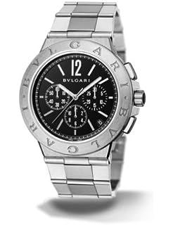 bvlgari diagono velocissimo black dial chronograph automatic mens watch