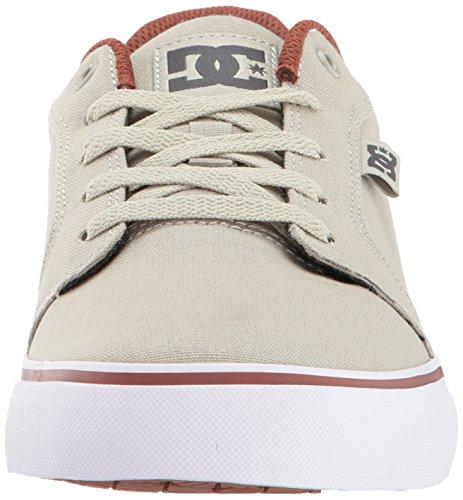 DC Herren Anvil TX Skate Schuh Taupe / Stein