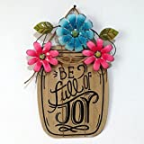 Easter Wooden Board Garden Flower Basket Easter Gift Suitable for Home, Bar, Hotel Decoration