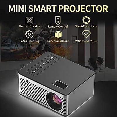 achievr Mini proyector, 1080P y 15 – 110 pulgadas de pantalla ...