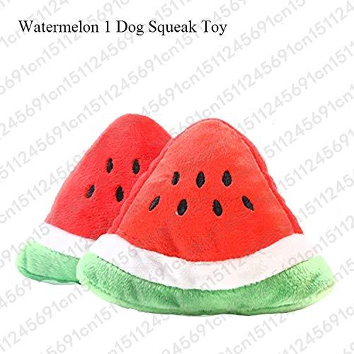 1pc Fruit Vegetable Chicken Drum Bone Squeak Toy For Dog Puppy Plush Red Pepper Eggplant Radish Duck Sounding Pet Toys (Drum Bird Toy)