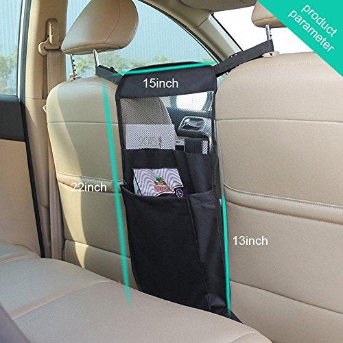 amazoncom keep top universal car vehicle consoles backseat organizer travel accessories kids toy storagepet barrier helps keep children pets off