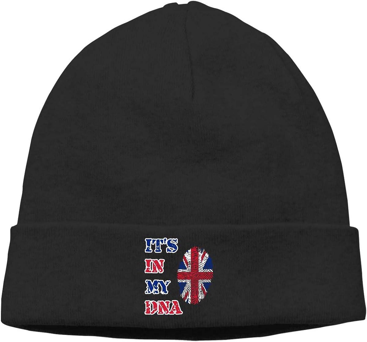 BBlooobow Men Women Its My DNA UK Soft Knit Hats