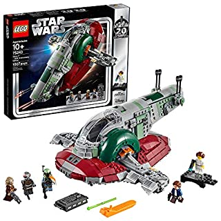 LEGO Star Wars Slave l - 20th Anniversary Edition 75243 Building Kit (1007 Piece) (B07JLZPV1L) | Amazon price tracker / tracking, Amazon price history charts, Amazon price watches, Amazon price drop alerts