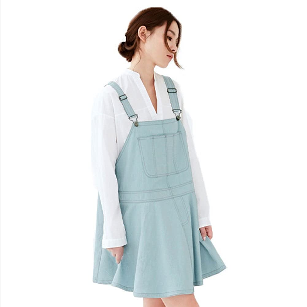 Anti-Radiation Maternity Clothes Top Baby Mom Protection Shield Denim Blue Dresses