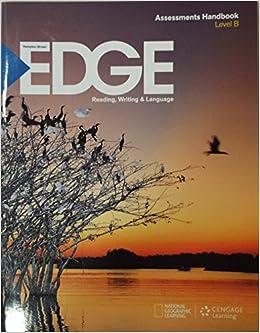 Book Hampton-Brown EDGE Reading, Writing & Language Assessments Handbook Level B