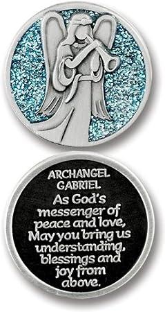 1-1//4-Inch Cathedral Art PT682 Saint Peregrine Pocket Token