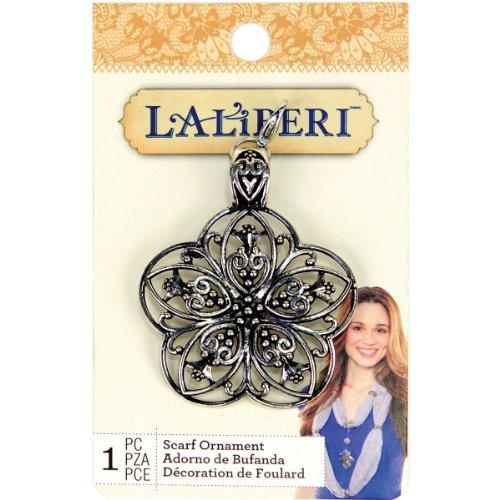 EK Success Brands Laliberi Scarf Pendant, 5-Petal Flower