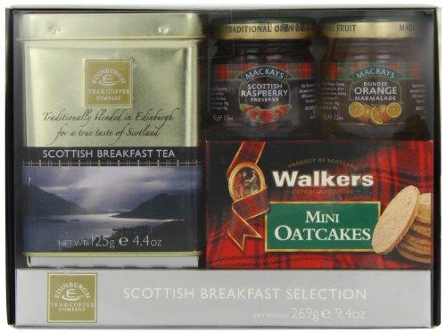 Edinburgh Tea & Coffee Company Scottish Breakfast Tea Selection, 9.4-Ounce