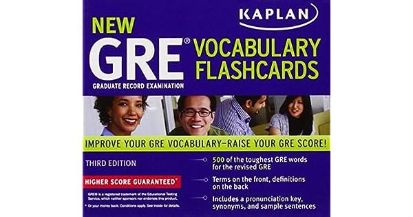 Kaplan new gre vocabulary flashcards livros na amazon brasil kaplan new gre vocabulary flashcards livros na amazon brasil 9781607148531 fandeluxe Choice Image