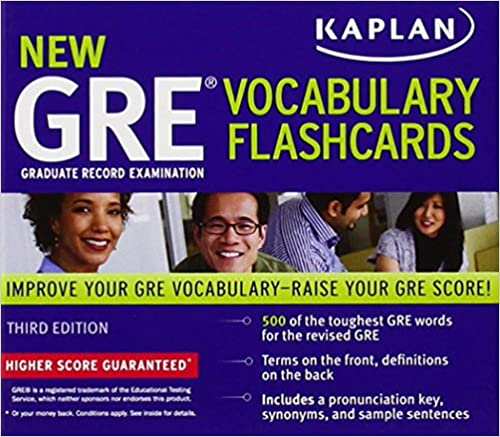 kaplan new gre vocabulary flashcards 3rd edition
