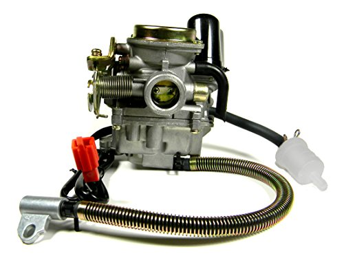 High performance carburetor for 4-stroke GY6 139QMB 50CC Scooters/Mopeds/Go - High Carburetor Performance