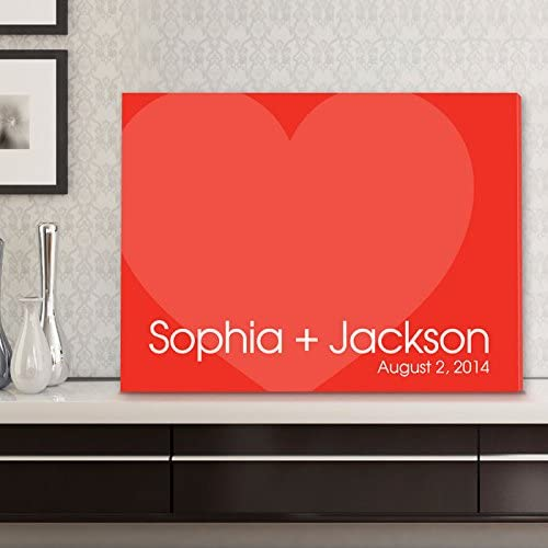Signature Love Forever Canvas