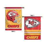 "Kansas City Chiefs Vertical Flag 2 Sided 28"" x 40"""