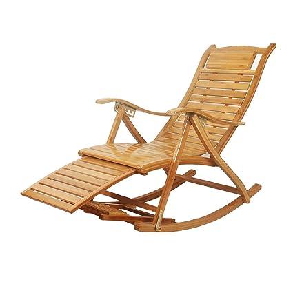 GW Rocking Chair sillón Plegable Silla basculante Silla ...