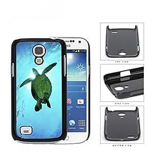 linJUN FENGBeautiful Green Sea Turtle Swimming in Bright Blue Ocean Water Hard Snap on Cell Phone Case Mini Samsung Galaxy S4 I9500