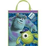 "Large Plastic Monsters University Goodie Bag, 13"" x 11"""