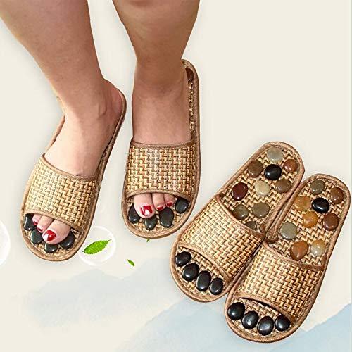 Pebble Antiscivolo 37 Estate Massaggio Assistenza Pantofole Piede Sanitaria Sandali Interno 38 Unisex Stone Shangxian 7zwTnqSxdd