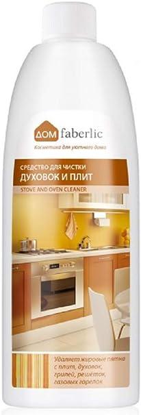 faberlic Potente Limpiador Profesional de hornos, vitocerámicas y sartenes 500 ml