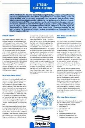 Triple P Kleine Helfer für Säuglinge/Elternschaft: Loseblattausgabe