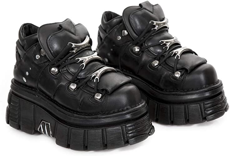 TALLA 41 EU. New Rock M.106-s29, Zapatos de Cordones Brogue Unisex Adulto