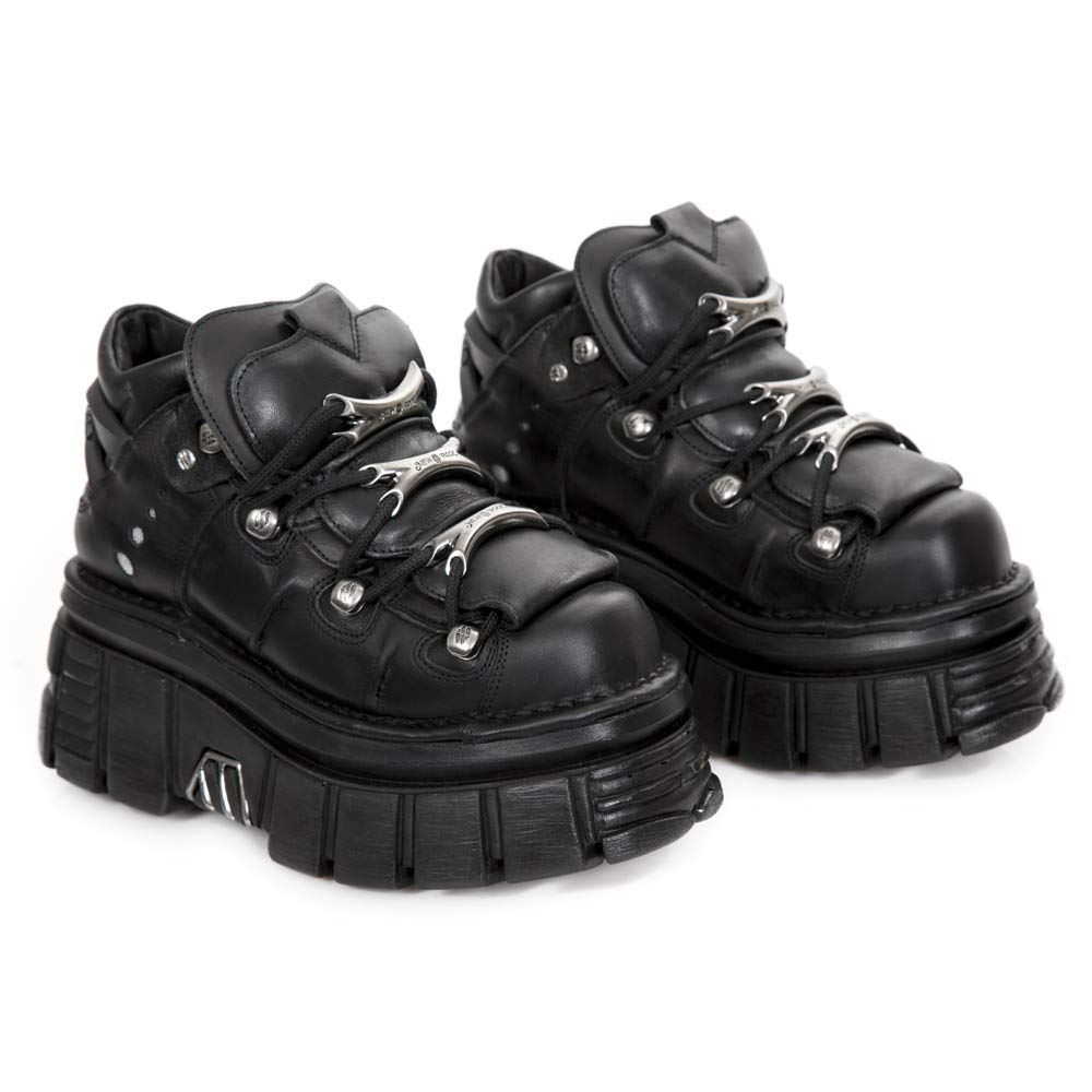 New Rock M.106-s29, Zapatos de Cordones Brogue Unisex Adulto