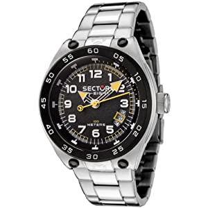 Sector Men's R3253177025 SK-eight Collection Stainless Steel Watch