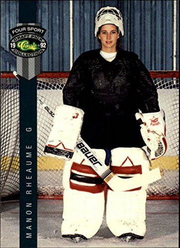 1992 Classic Four-Sport #224 Manon Rheaume Rookie Card RC by Classic Four Sport