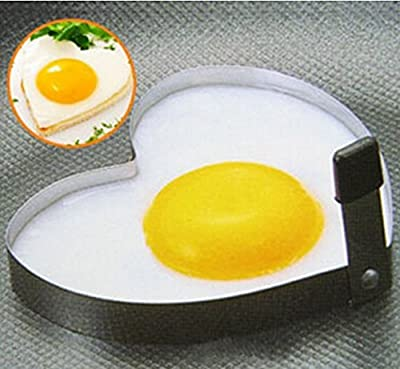 Stainless Steel Pancake Mould Mold Ring Cooking Fried Egg Shaper Kitchen Tools by MarbellStore