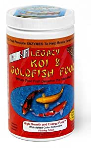 Ecological Labs MLLHGESM 16-Ounce Koi Legacy High Growth and Energy Fish Food